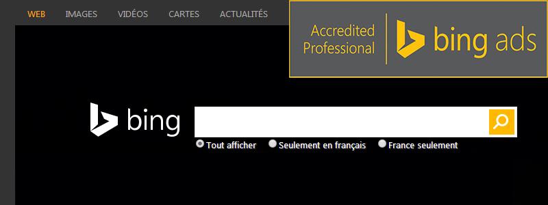 Visiplus obtient l'accréditation Bing Ads