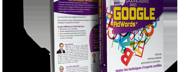 Parution du livre « Le référencement publicitaire avec Google AdWords »