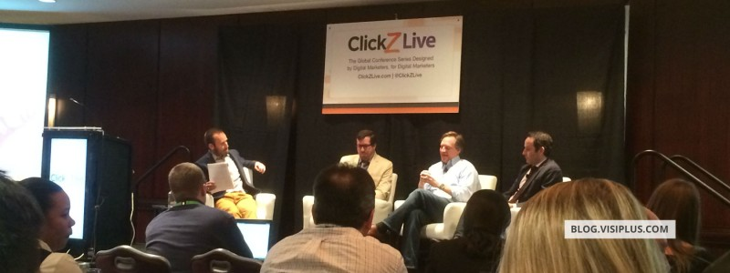 Visiplus au ClickZ Live New York 2014