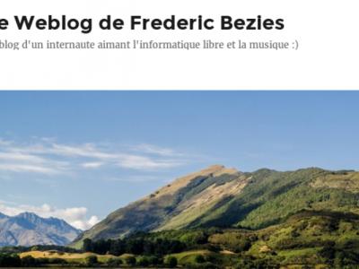 Le Weblog de Frederic Bezies
