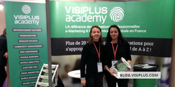 VISIPLUS academy au salon Solutions Ressources Humaines de Lyon