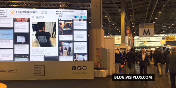 Visiplus academy de retour du salon e commerce paris 2015 for Salon des ce paris 2015