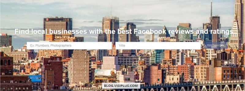 Facebook concurrence Yelp avec les Professional Services