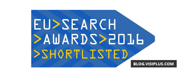 European Search Awards 2016 : VISIPLUS au pied du podium !