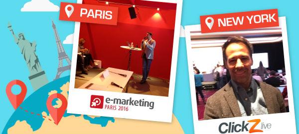 Salon e-marketing Paris & ClickZ Live New-York : fin d'une semaine chargée pour VISIPLUS !