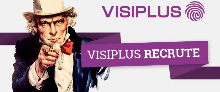 Visiplus lance un nouveau plan de recrutement à Sophia Antipolis, Paris et Ecully