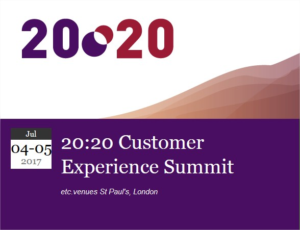2020 Customer Experience Summit