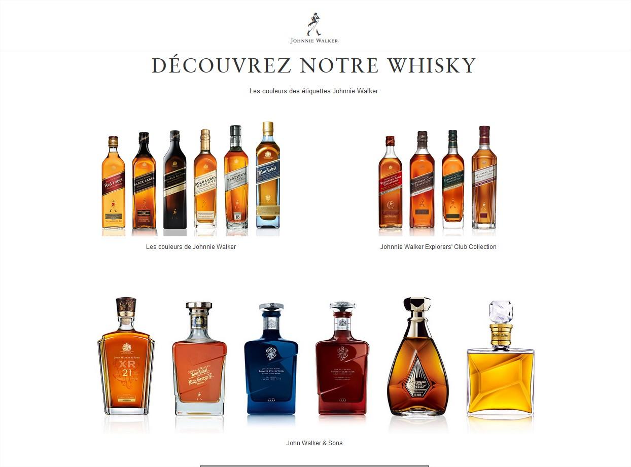 Johnnie Walker whisky ecossais - Mozilla Firefox