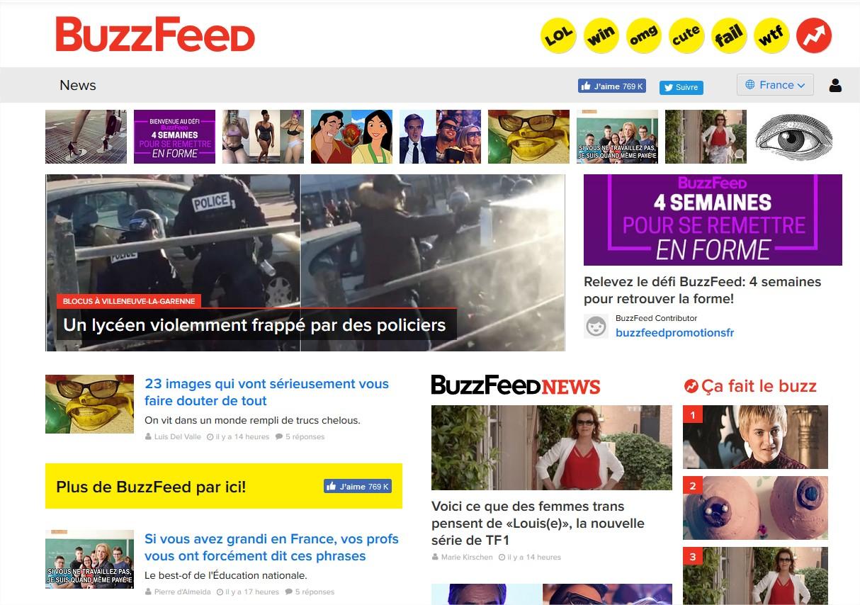 BuzzFeed - Mozilla Firefox
