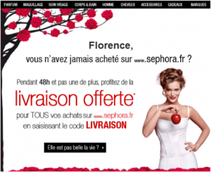 campagne email personnalisée