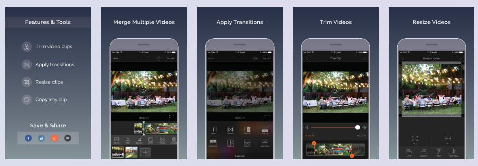 video editor application iphone