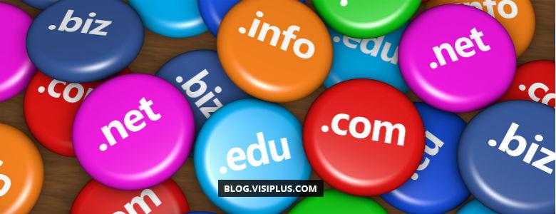 L'extension de nom de domaine par mot-clé est valorisée dans les SERP
