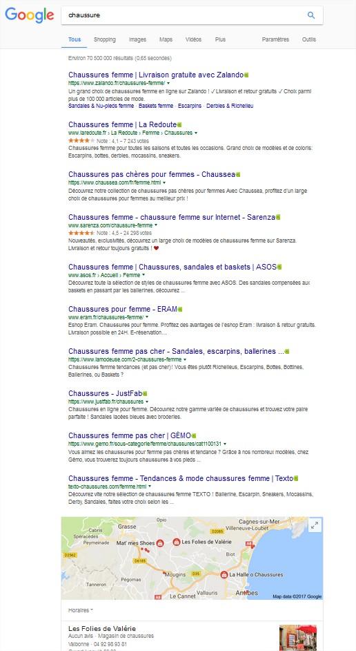 Source : Google recherche desktop