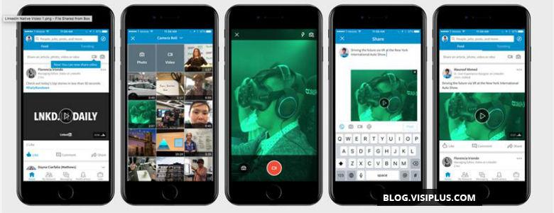 LinkedIn lance ses annonces vidéo mobiles autoplay