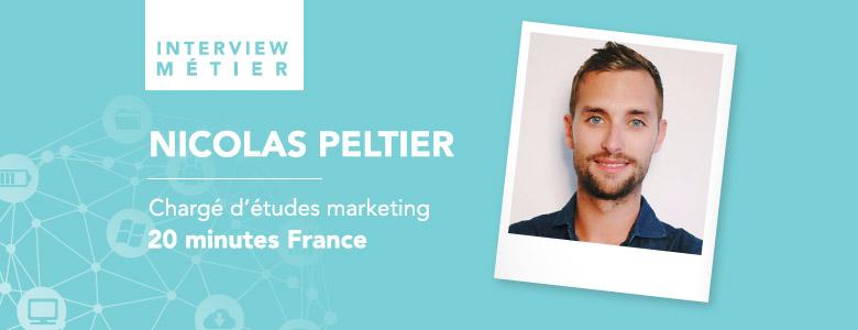 «Nous sommes dans des métiers et un secteur où la question du digital et de son impact ne se posent plus.», Nicolas Peltier, Chargé d'études – 20 Minutes France