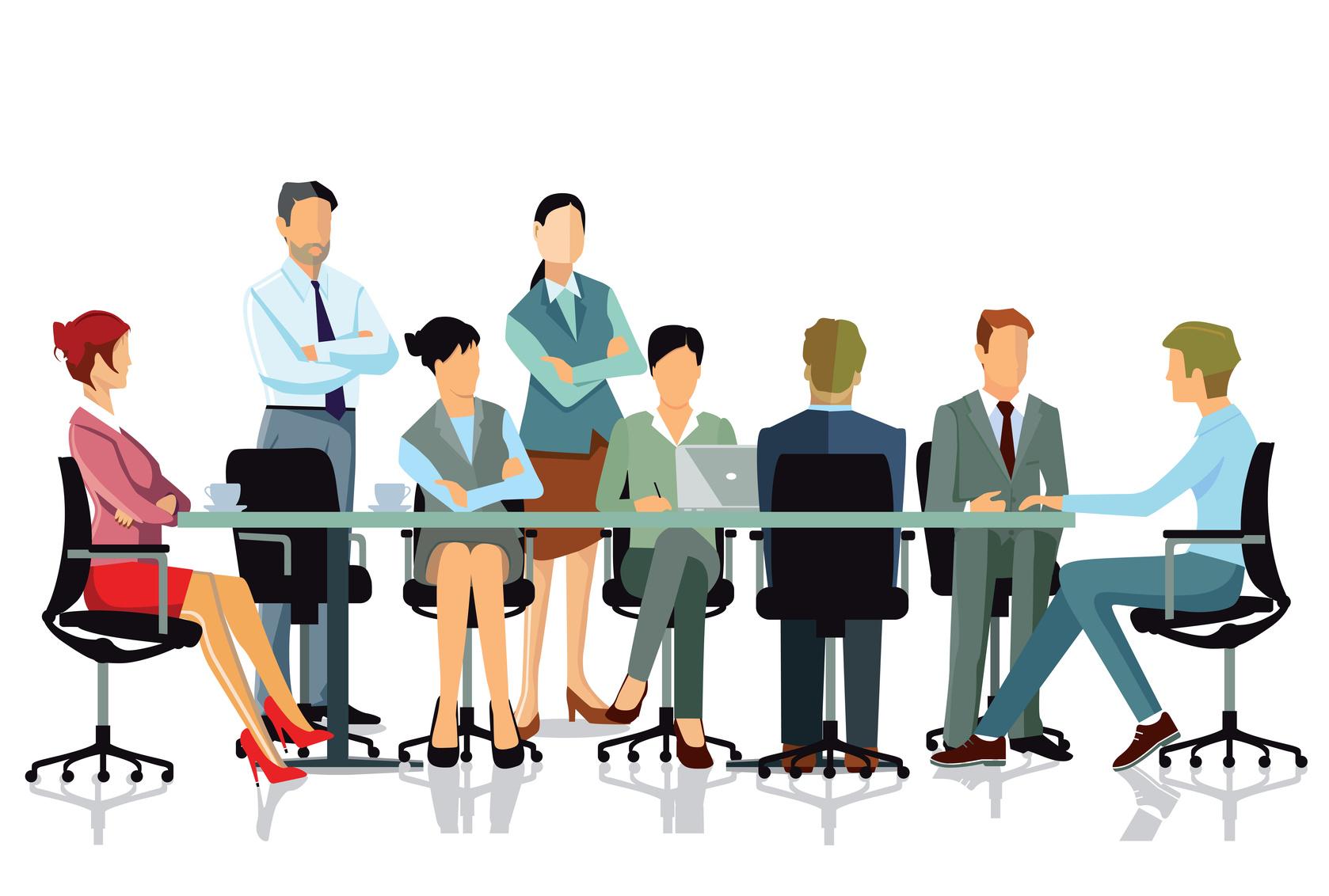 Mitarbeiter Konferenz