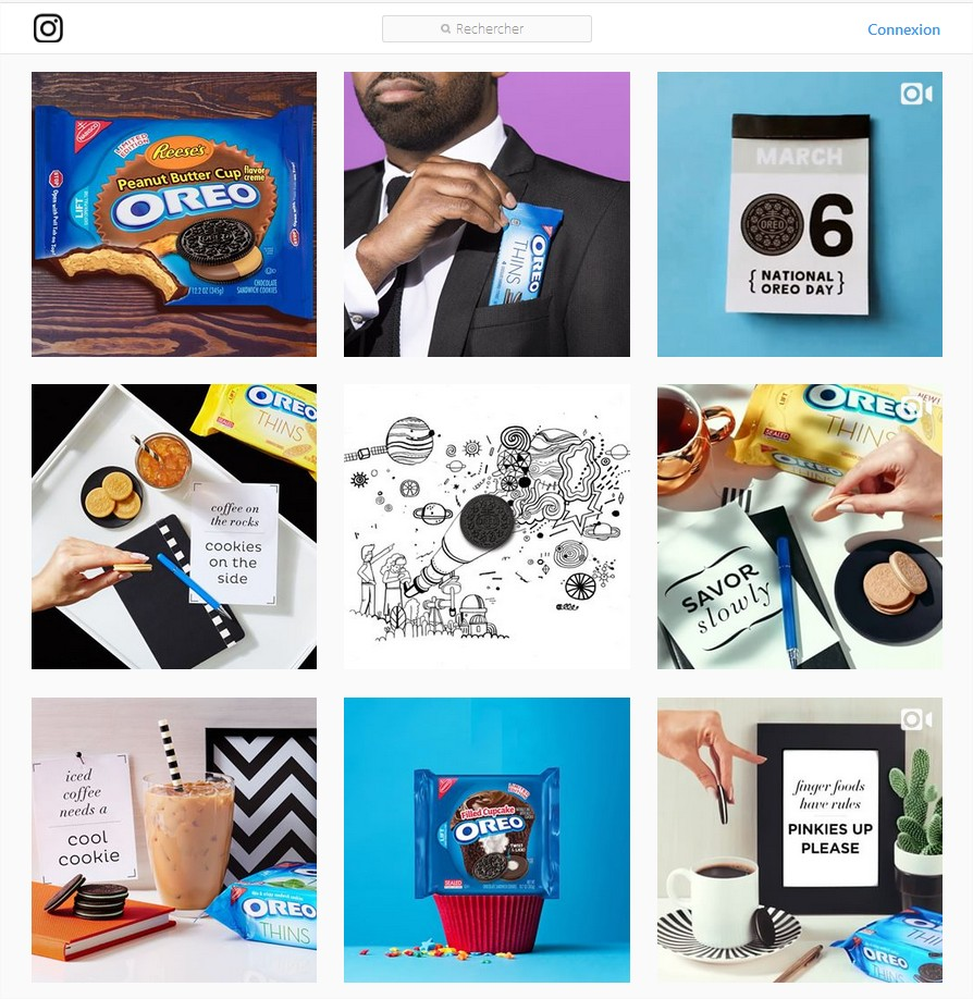 Source : Oreo Instagram