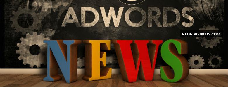 Google déploie les extensions de promotion AdWords, les audiences personnalisées et les variantes d'annonces