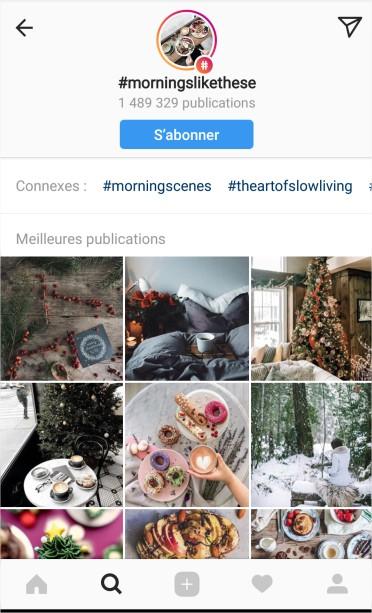 Source : Instagram, #morningslikethese