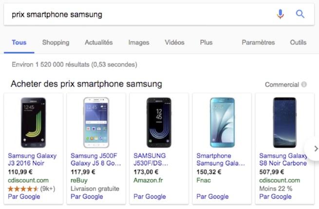 prix-smartphone-samsung