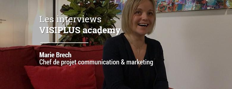 «L'ensemble des offres d'emploi proposées sur le marché exigent désormais une compétence en digital», Marie Brech, Chef de Projet Communication & Marketing