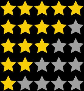 étoiles avis positifs négatifs