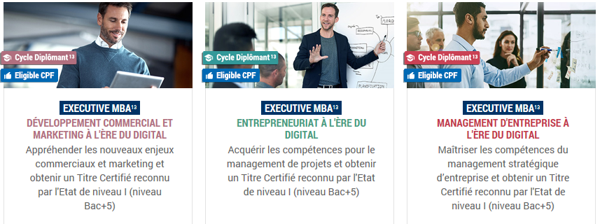 Executive MBA en digital learning