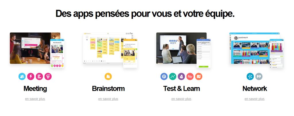 Brainstorm outil entreprise