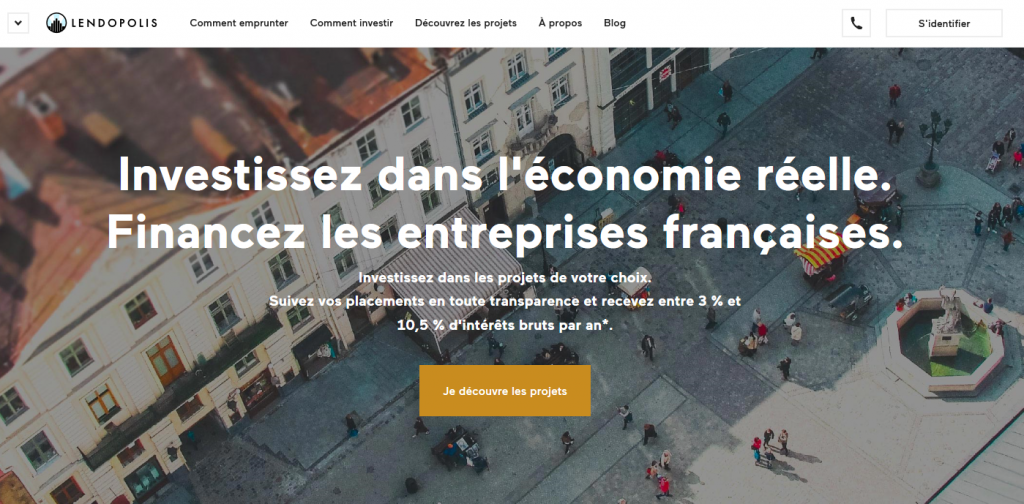 Plateforme participative financement projets innovants