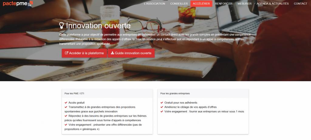 plateforme ouverte collaborative en ligne lead users