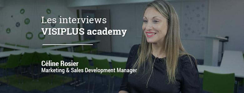 « Au cours de la formation j'ai réussi à contacter d'autres participants, on a créé un mini réseau et ça nous a permis de nous entraider… » Céline Rosier, Marketing & Sales Development Manager