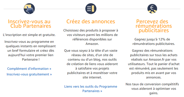 Source image capture d'écran : partenaires.amazon.fr