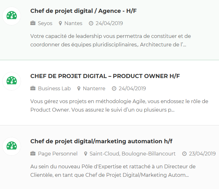 les 4 cl u00e9s de la r u00e9ussite pour devenir chef de projet digital