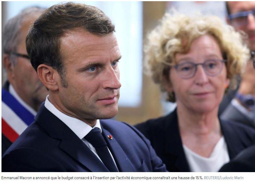 Emmanuel Macron face à la formation