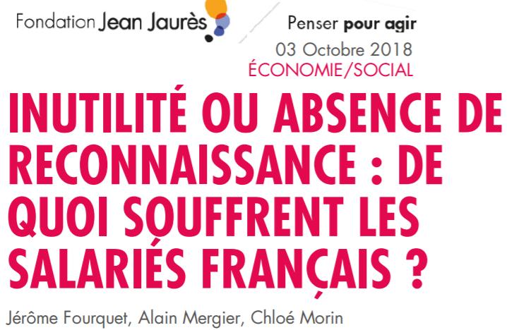 français souffrent absence de reconnaissance