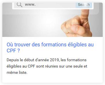 Top des Q/R à propos du CPF en général. Questions et Réponses à propos du compte CPF, des droits CPF, du DIF CPF et de la formation éligible au CPF.
