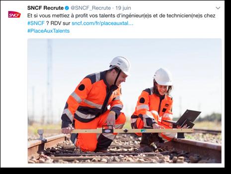 Recrutement SNCF
