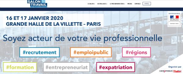 Salon du travail et de la mobilité professionnelle 2020.