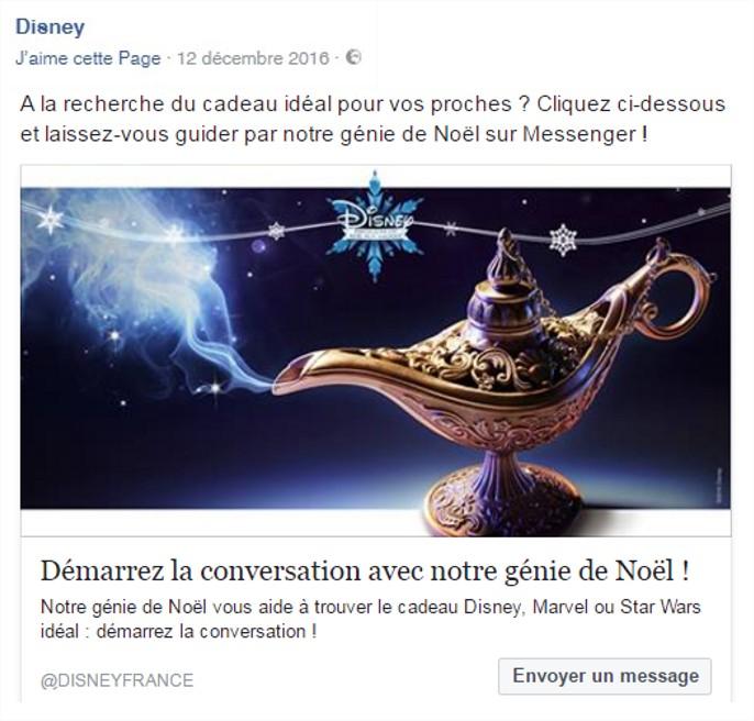chatbot Disney