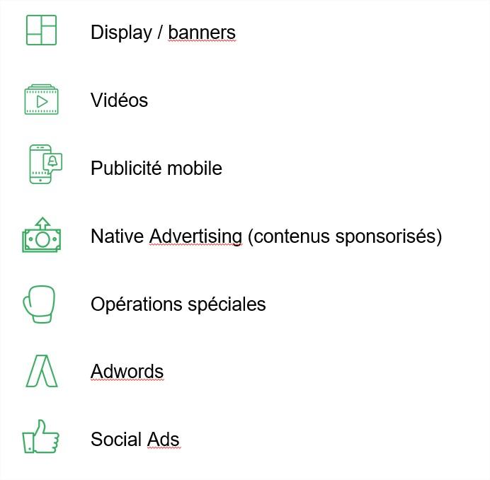 Formats Publicitaire