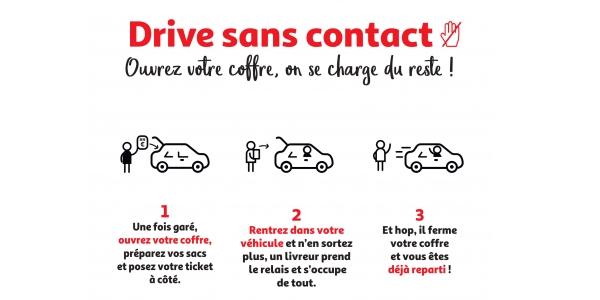 Le drive peut vous aider à optimiser le parcours client mais il nécessite des précautions particulières en période de crise sanitaire.