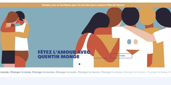 LSF célèbre la Fête de l'Amour en 2021 avec une collection mixte.