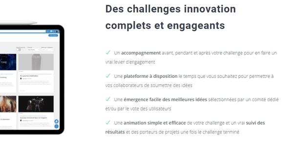 Des plateformes spécialisées facilitent la mise en place des challenges d'innovation.