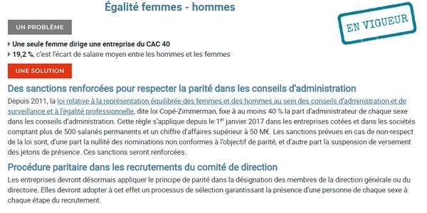 Le Responsable diversité et RSE doit notamment veiller sur le respect de l'égalité femmes-hommes au sein de l'entreprise.