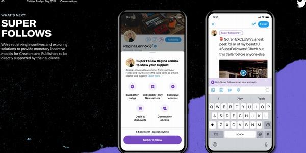 Entre autres fonctionnalités Twitter propose un nouveau système de rémunération pour les influenceurs en 2021.