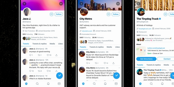 Nouvelles fonctionnalités Twitter : surveillez l'arrivée des comptes Business en 2021.