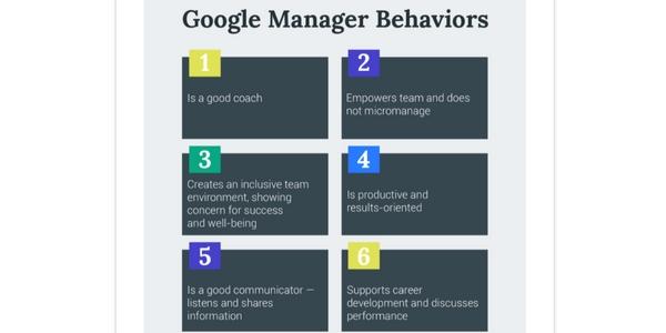 l'expérience manager est devenue très importante aux yeux de Google.