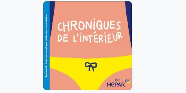 """""""Les chroniques de l'intérieur"""" d'Hépar brillent par leur humour décapant !"""
