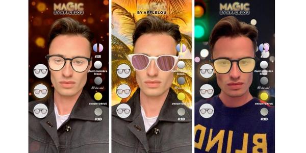 Afflelou a lancé une expérience RA intéressante sur Snapchat durant le second confinement.