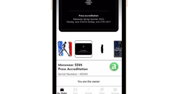 L'accréditation presse est directement incluse dans le NFT de la Fashion Week parisienne.